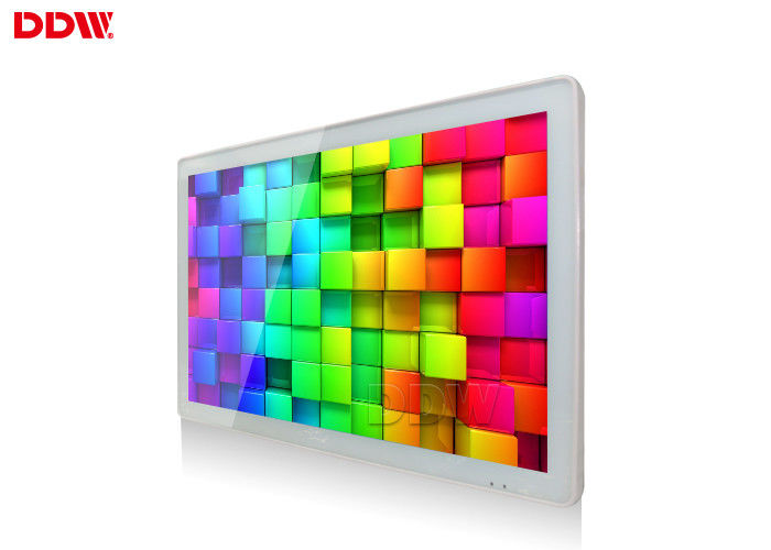 55 Inch Interactive Wall Mounted Advertising Display Fhd 1920x1080 Indoor Application