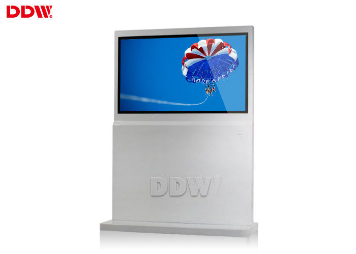 "Indoor Free Standing Digital Signage software freeware 65"" LCD display 500cd / m2 DDW-AD6501S"