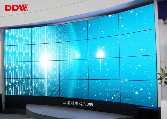 Super narrow bezel monitor arc video wall display 3.5mm width 178 x 178 Viewing Angle